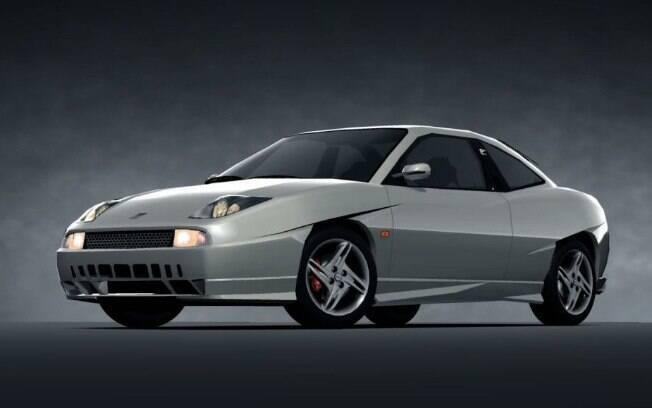 Versão mais extrema do Fiat Coupé, a 20v Turbo Plus, que participa de games como o Gran Turismo