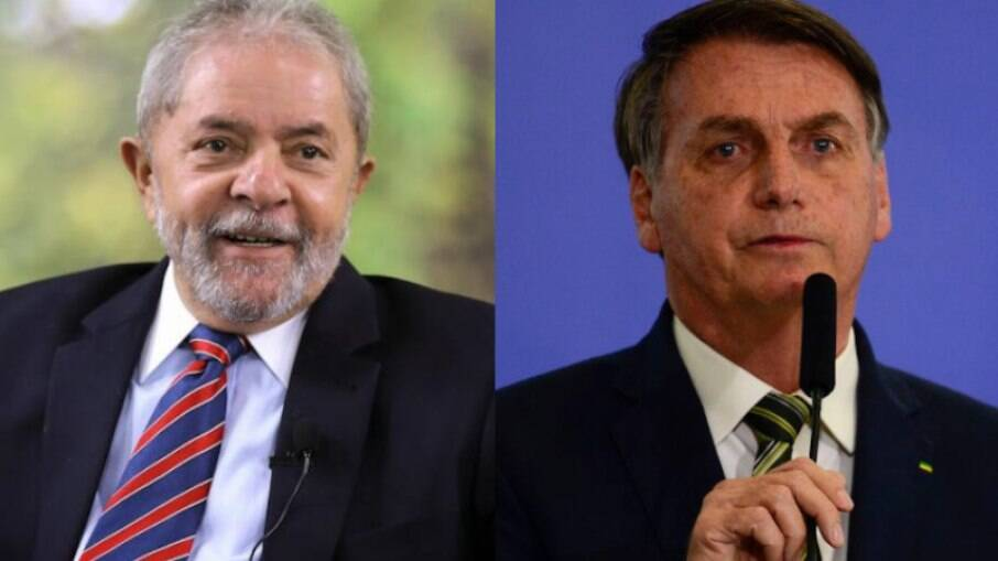 Lula (PT) mantém vantagem no segundo turno contra o atual presidente, Jair Bolsonaro (sem partido)