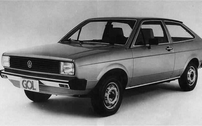 Gol da primeira geração: lançado em 1980, o carro da Volkswagen liderou o mercado durante 27 anos, de 1987 a 2013, e mantém a sua força