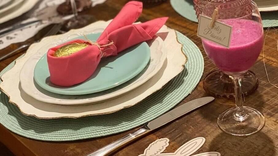 Invista na criatividade para deixar sua mesa com o charme tradicional da Páscoa