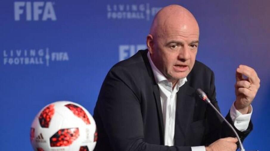 Gianni Infantino, presidente da Fifa, apoiava Superliga