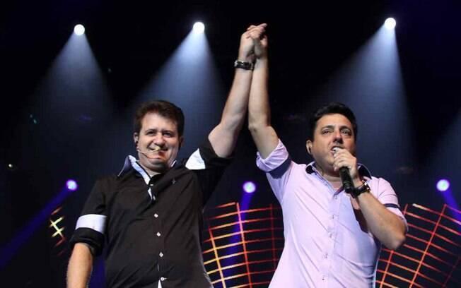 Bruno e Marrone em show no Rio de Janeiro