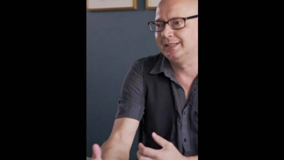 Jornalista brasileiro Hudson Luiz Corrêa