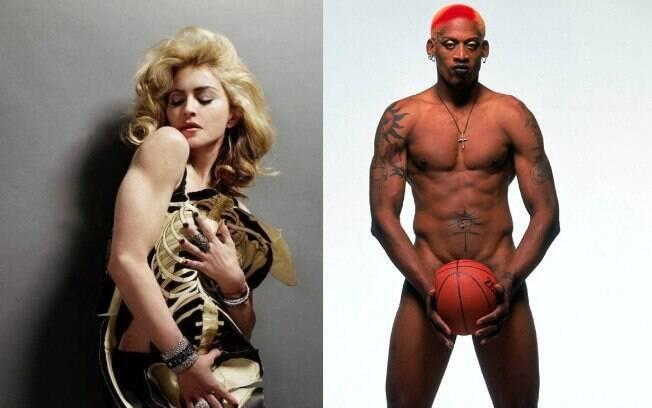 Madonna e Dennis Rodman