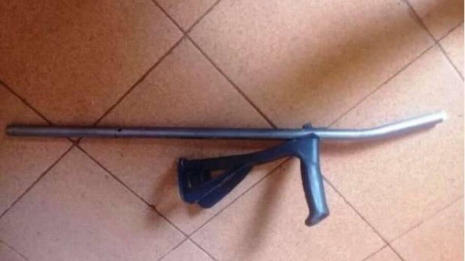 Muletas usadas na agressão