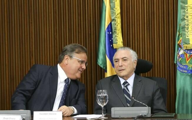 Articulador político de Michel Temer, Geddel Vieira Lima deixou o governo em 25 de novembro