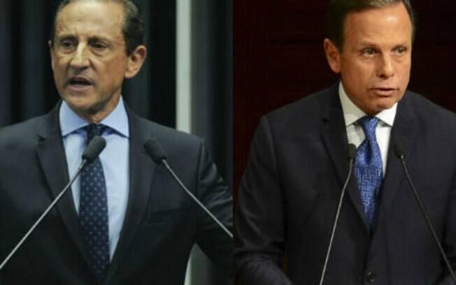 Skaf (MDB) e Doria (PSDB) estão empatados na corrida por São Paulo