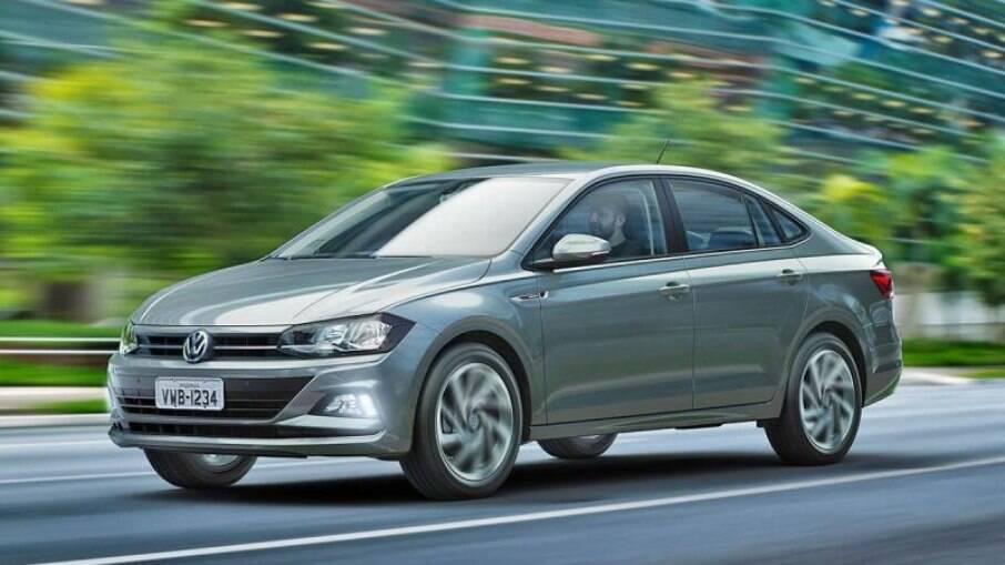 Confira os preços reajustados da dupla Polo e Virtus, da Volkswagen