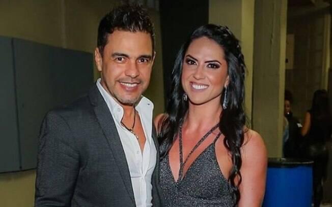 Graciele Lacerda sempre posta fotos sensuais e o namorado, o cantor Zezé Di Camargo não deixa de elogiá-la