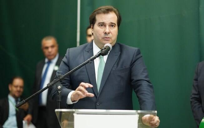 Presidente da Câmara dos Deputados, Rodrigo Maia, falou sobre decreto das armas