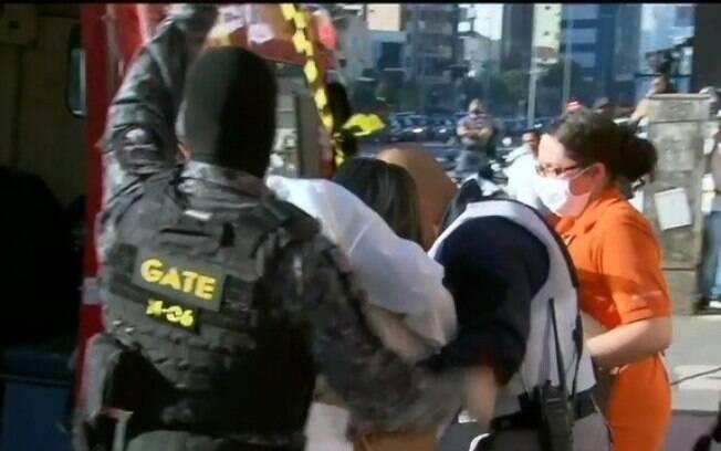 A gerente de um mini mercado localizado na zona sul de São Paulo foi feita de refém na manhã desta quarta-feira (22)