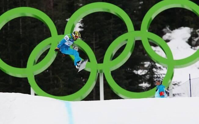 A snowboarder não repetiu o desempenho e  ficou em 19º lugar nas Olimpíadas de 2010
