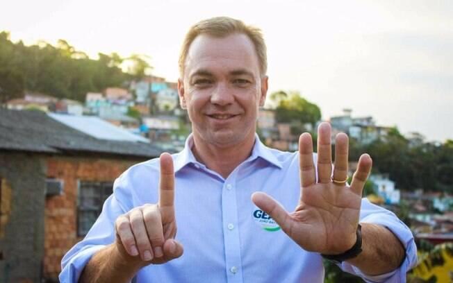 Gean Loureiro foi eleito prefeito de Florianópolis
