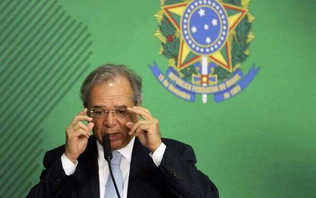 O ministro da Economia, Paulo Guedes, falou que