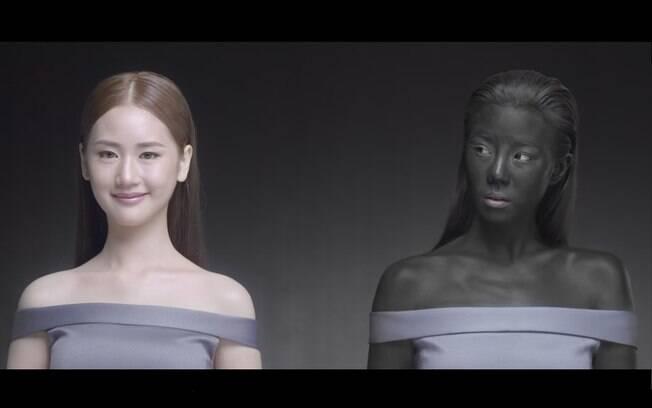 Empresa tailandesa foi criticada por anúncio que esnobava de mulheres com a pele escura