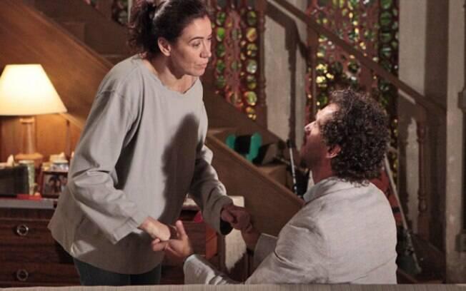Guaracy contou que Griselda tinha ganhado na loteria e pediu a mulher em casamento pela segunda vez