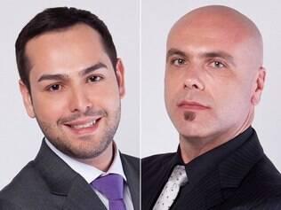 Fernando Gonçalves e Rogério Corrêa, de