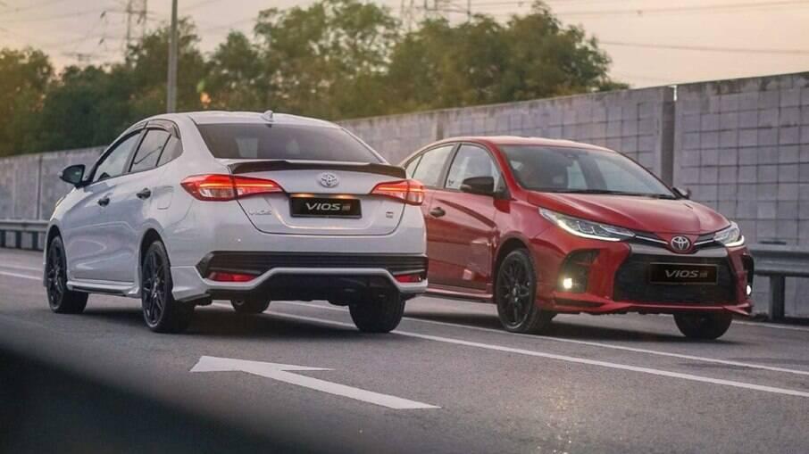 Mudanças do Toyota Yaris não devem demorar para serem integradas ao modelo nacional