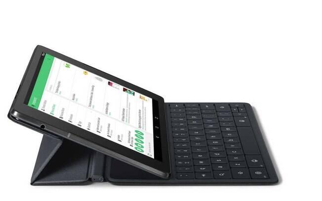 O Nexus 9 também roda Android L e tem um processador 64-bit NVIDIA Tegra K1 processador 64-bit NVIDIA Tegra K1 2.3 GHz