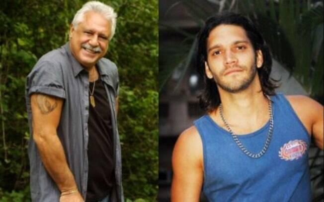 Antonio Fagundes e Armando Babaioff em