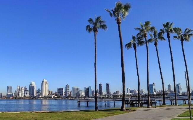 Em San Diego, pessoas com deficiência física também podem se divertir em passeios na cidade ou na praia