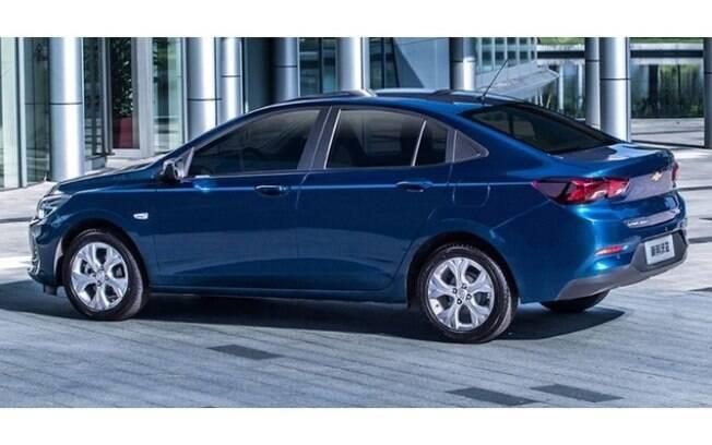 Chevrolet Onix Sedan mostra que será um carro mais refinado que o Prisma para brigar com Virtus, Yaris, City e outros