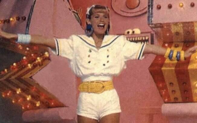 Xuxa e sua nave espacial que marcou época