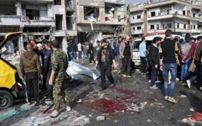 Atentados ocorrem em meio a tentativas de negociações de paz entre o governo da Síria e grupos de oposição