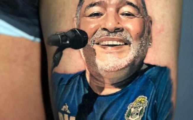 Tatuagem do Maradona