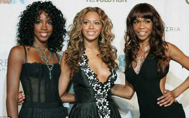 Kelly Rowland, Beyoncé e Michelle Williams em 2005