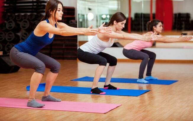 treinamentos com o peso do corpo