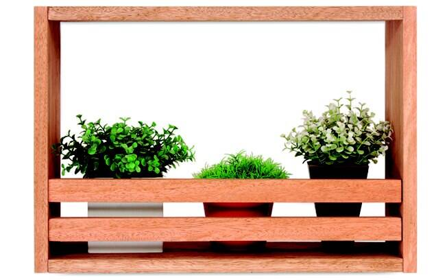 jardim vertical venda:Por que não usar dois ou três nichos para compor um jardim vertical