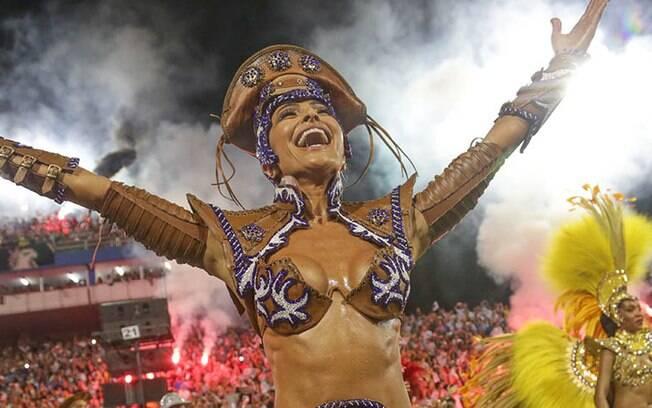 Sabrina Sato é uma das musas desse carnaval