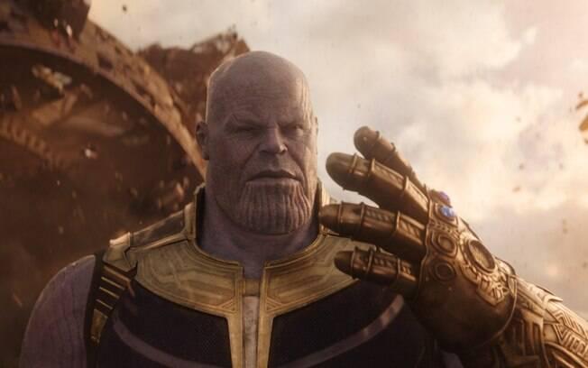 Thanos, o super vilão do filme