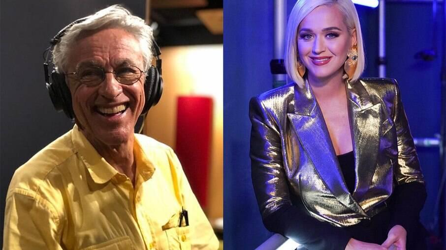 Caetano Veloso e Katy Perry assinaram a carta  direcionada para Joe Biden