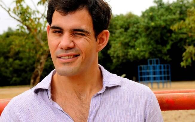 Juliano Cazarré atraiu a atenção geral com Ismael, um marginal perigoso mas sedutor