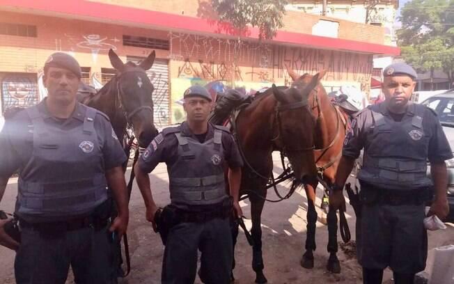 Policiais deram mais um desfalque nos traficantes da região central de São Paulo
