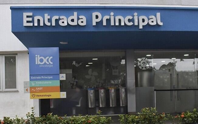 Instituto Brasileiro de Controle do Câncer, em São Paulo, onde o paciente estava internado