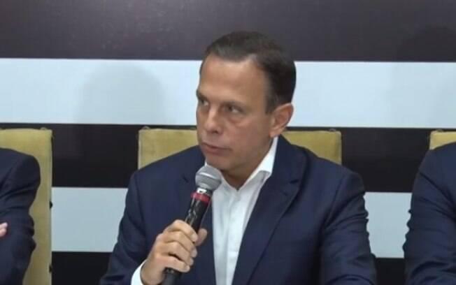 João Doria anunciou a privatização do sistema prisional nesta sexta-feira (18)