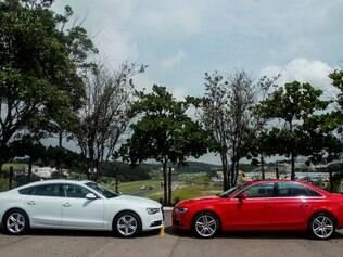 Audi A5 e A4 com novo motor 1.8 TFSI