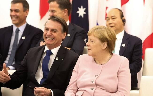 Merkel havia afirmado que advertiria Brasil sobre desmatamento