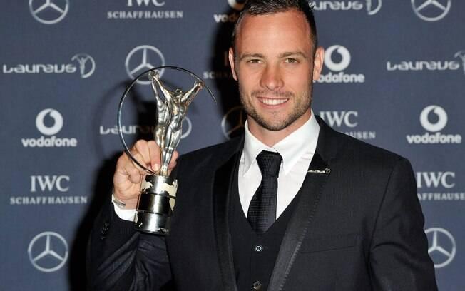 Pistorius ganhou o prêmio Laureus devido ao  seu grande destaque em 2011