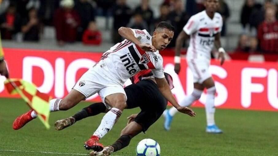 Igor Vinícius é um dos destaques do São Paulo nesse início de temporada