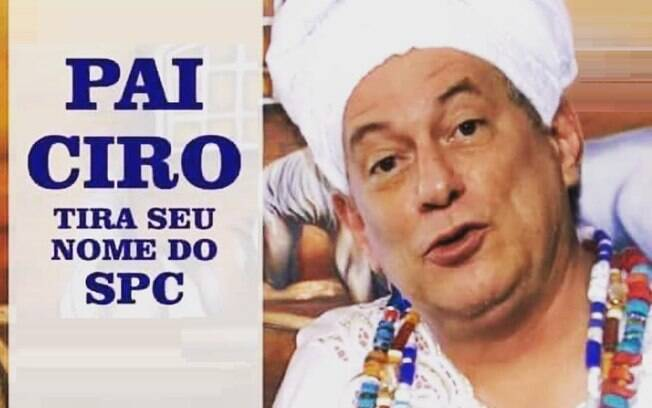 Ciro Gomes prometeu limpar o nome da população e virou um dos memes de 2018