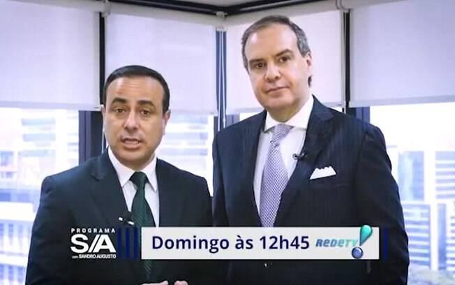 Apresentador Sandro Augusto conta a sua trajetória de sucesso como comunicador para TV IG