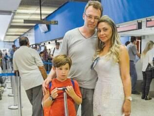 Jorge Sierakowski e a família reclamaram da falta de ar-condicionado