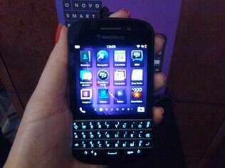 Novo smartphone da BlackBerry à venda no Brasil, Q10 não está disponível para usuários domésticos