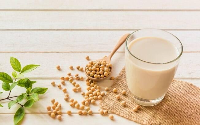 Leite de soja é rico em nutrientes e em proteína