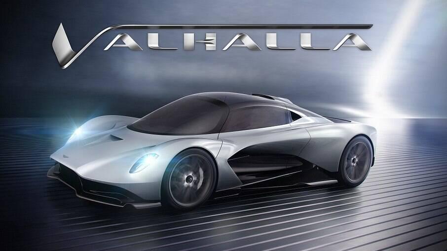 Aston Martin Valhalla será a estrela principal ao lado de Daniel Craig em '007 Sem Tempo para Morrer'.