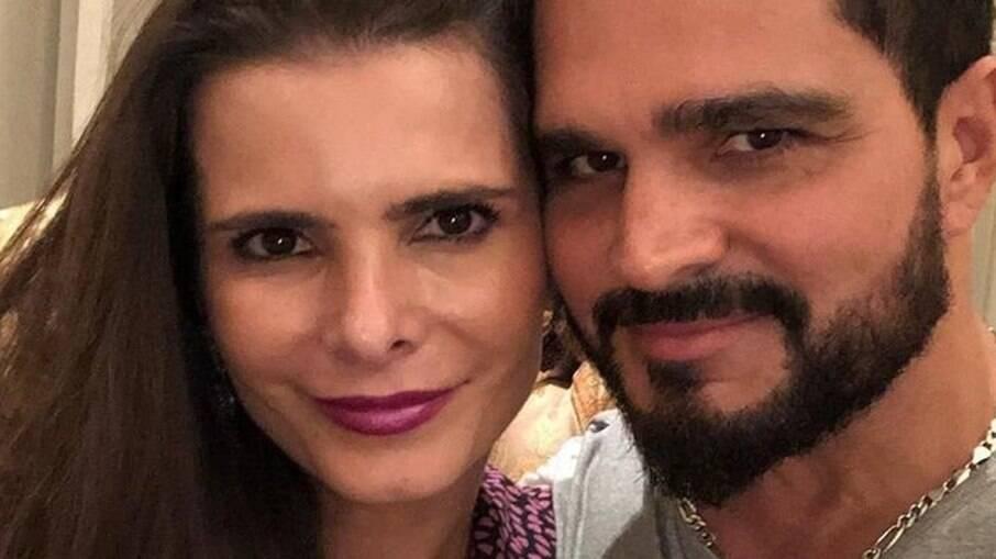 Flavia Fonseca e Luciano Camargo estão juntos há 18 anos